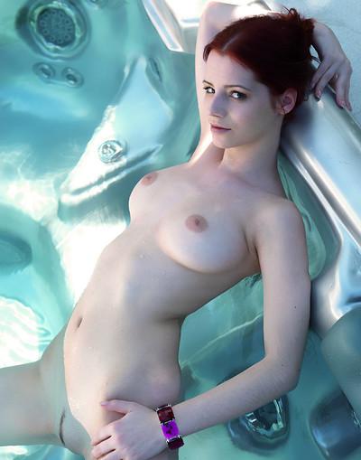 Ariel A in Steaming from Met Art