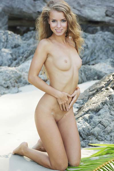 Exotic and irresistible Stella Lane poses for you