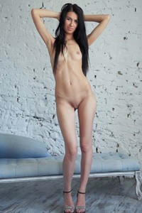 Alluring Alecto has a perfect curvy body to display