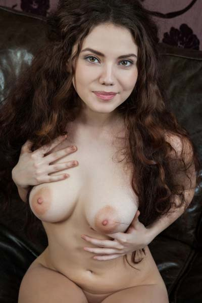 Gorgeous Norma A brings out the real naked beauty