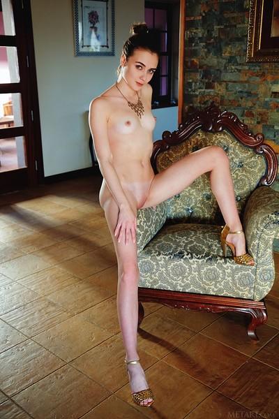 Alice Shea in Dimeu from Met Art