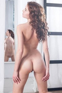 Erna is feeling hot and free to show you her sexy all natural amazing body