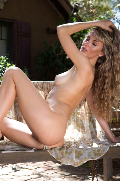 Jennifer Love is not feeling shy to show you her amazing natural attributes