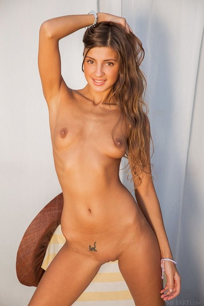 Melena A in Mikyra from Met Art