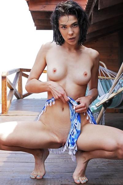 Callista B in Hot And Wet from Met Art