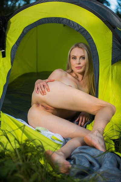 Maria Rubio in Camp Out from Met Art
