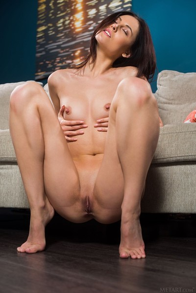 Sade Mare in Comfy Couch from Met Art