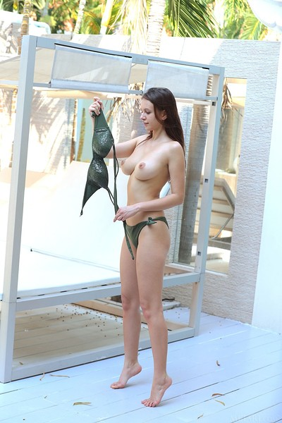 Alisa Amore in Waiting For Summer from Met Art