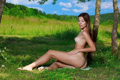 Maddison in Love In Nature from Met Art