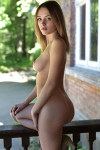 Maxa stunning brunette dazzles us with her nubile body and super smooth and fair skin