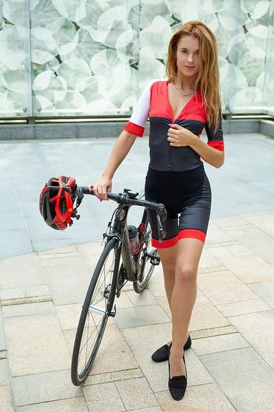 Ingrid in Biking Babe from Met Art