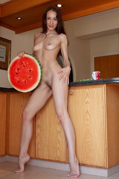 Megan Muse in Luscious Fruit from Met Art
