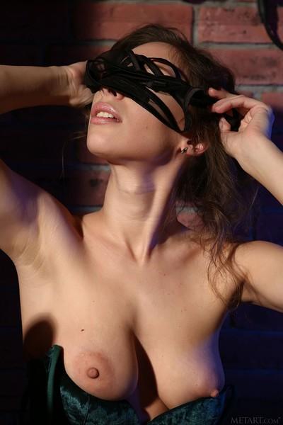 Galina A in Nude Bar from Met Art