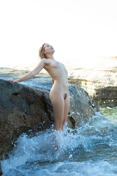 Chanel Fenn in The Cove from Met Art