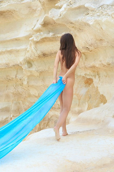 Megan Muse in The Coves from Met Art