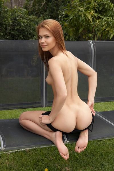 Laina in Flirty Swing from Met Art