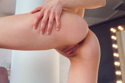 Davina in Sheer Stockings from Met Art