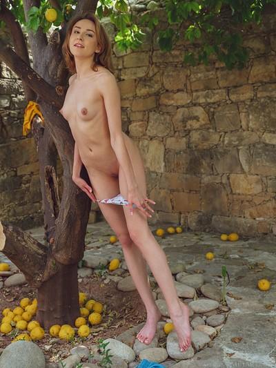 Lea Rose in Lemons from Met Art