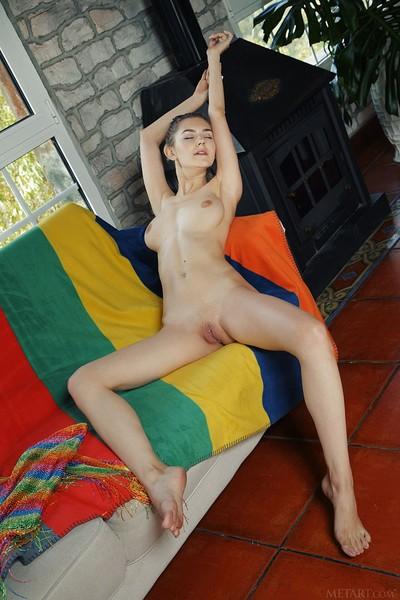 Eva Elfie in Colorful from Met Art