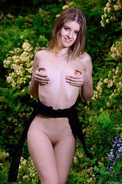 Libby in Wild Garden from Met Art