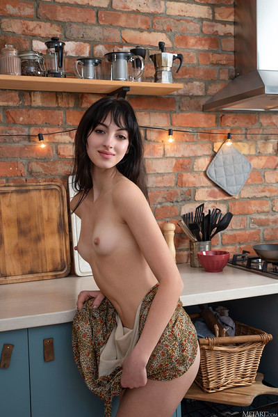 Corinna in Exotic Chef from Metart