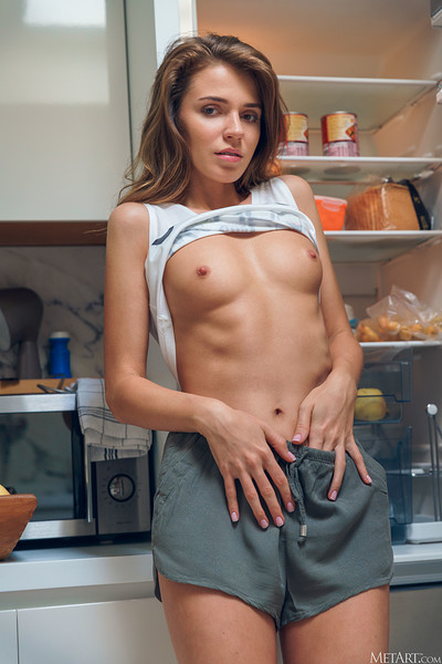 Kalisy in Late Night Snack from Metart