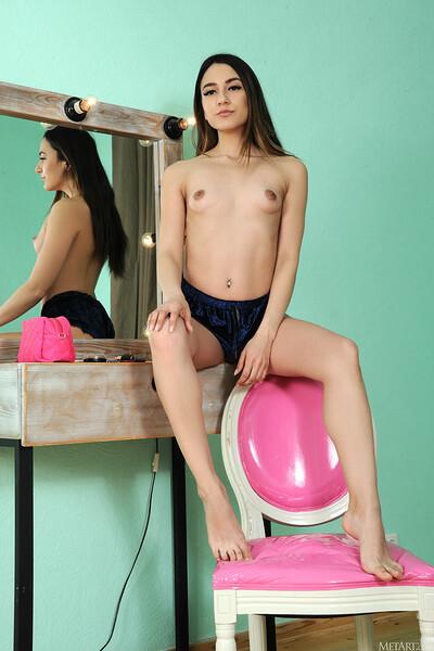 Cira Nerri in Makeup Chair from Metart